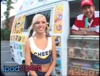 So Hot She Melts His Ice Cream