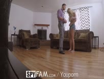 Spyfam Step Dad Cons Step Daughter Into Photoshoot Fuck With Kylie Page - iPad Porn HD,High.mp4z